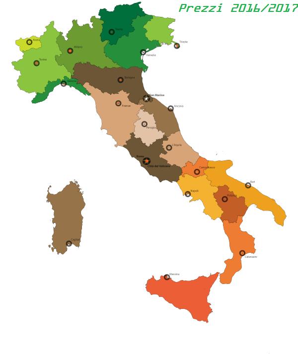 Prezzi pellet prestagionale offerte tutta italia